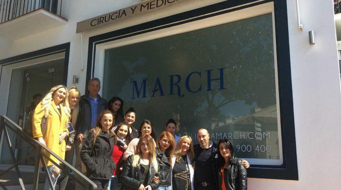 Termina El Periplo Erasmus + En Clínica March Marbella